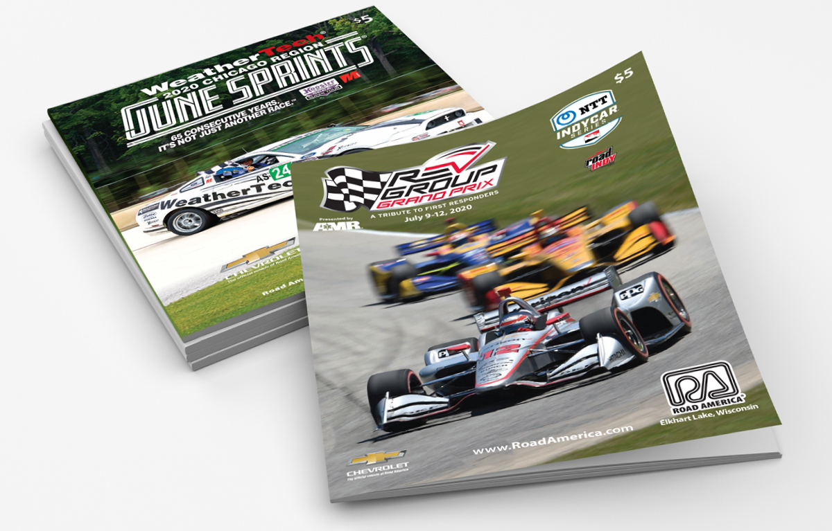 Road America Magazine Covers